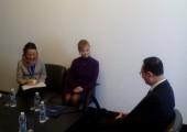 Поли Карастоянова се срещна с Луо Шуган, министър на културата на Китайската народна република